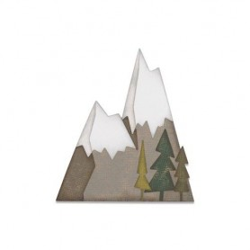 Sizzix Thinlits Die set - 7PK Alpine  Tim Holtz