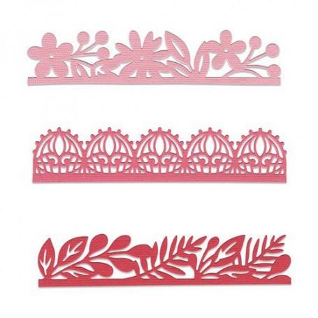 Sizzix Thinlits Die set - 3PK Decorative Edges Katelyn Lizardi
