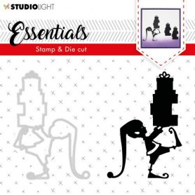 Studio Light Stamp & Die Cut A6 Essentials Silhouettes nr 34