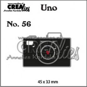 Crealies Uno no. 56 Kamera (Small)  45x33mm