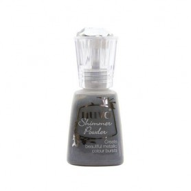 Nuvo Shimmer Powder - Meteorite Shower Black Freutag
