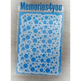 Memories4you Stencil A4 Kreise