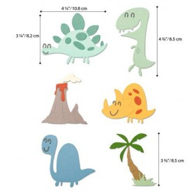 Sizzix Thinlits Die Set - 9PK Dinosaurs  Pete Hughes