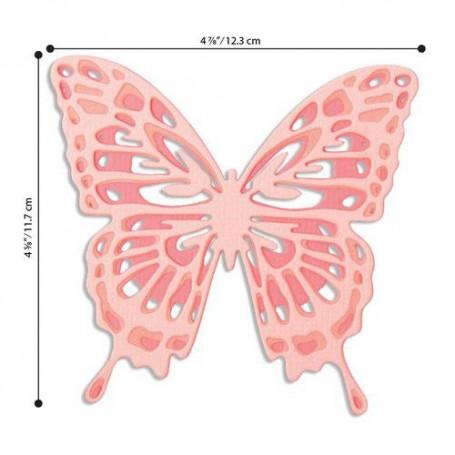 Sizzix Thinlits Die Set - 3PK Intricate Wings Jessica Scott