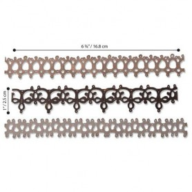 Sizzix Thinlits Die Set - 3PK Crochet  Tim Holtz