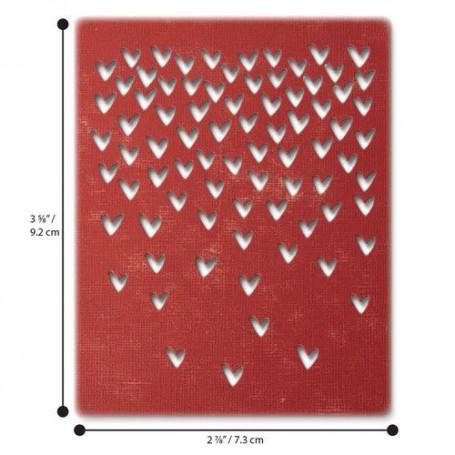 Sizzix Thinlits Die Set - 4PK Falling Hearts Tim Holtz
