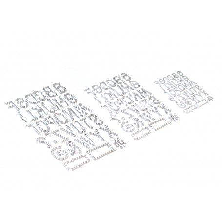 Planner Essentials 23 - Retro Alphabet Trio