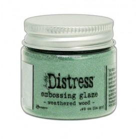 Ranger Distress Embossing Glaze Tim Holtz - Weathered Wood