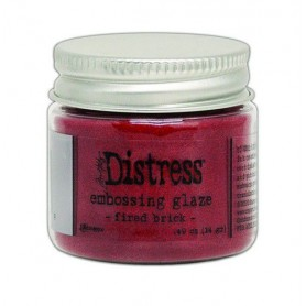 Ranger Distress Embossing Glaze Fired Brick TDE70979 Tim Holtz