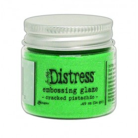 Ranger Distress Embossing Glaze Cracked Pistachio Tim Holtz