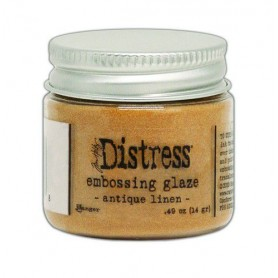 Ranger Distress Embossing Glaze Antique Linen TDE70948 Tim Holtz