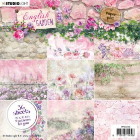 Studio Light Paper Pad 36 Bogen English Garden nr.136