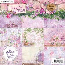 Studio Light Paper Pad 36 Bogen English Garden nr.135