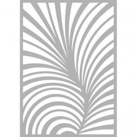 """Memories4you Stencil (A6) """"Stripes"""""""