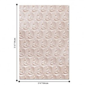 Sizzix - 3-D Textured Impressions Emb. Folder Geometric Lattice