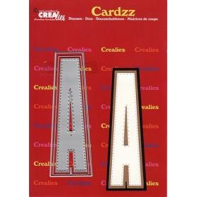 Crealies Cardzz letters Buchstabe A  max. 13 cm
