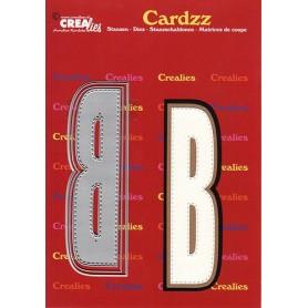 Crealies Cardzz letters Buchstabe B max. 13 cm