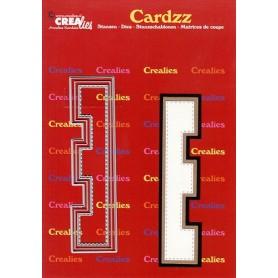 Crealies Cardzz letters Buchstabe E  max. 13 cm