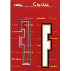 Crealies Cardzz letters Buchstabe F  max. 13 cm