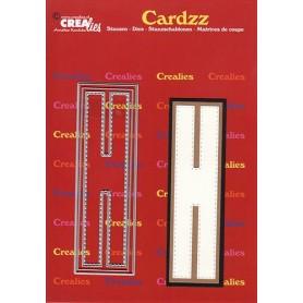 Crealies Cardzz letters Buchstabe H  max. 13 cm