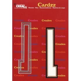 Crealies Cardzz letters Buchstabe L  max. 13 cm