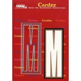 Crealies Cardzz letters Buchstabe M max. 13 cm
