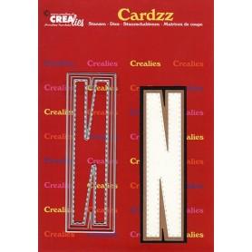 Crealies Cardzz letters Buchstabe N max. 13 cm