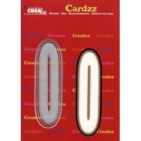 Crealies Cardzz letters Buchstabe O  max. 13 cm