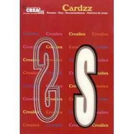Crealies Cardzz letters Buchstabe S  max. 13 cm