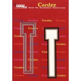 Crealies Cardzz letters Buchstabe T max. 13 cm