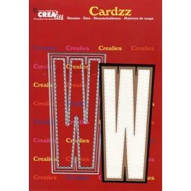 Crealies Cardzz letters Buchstabe W max. 13 cm