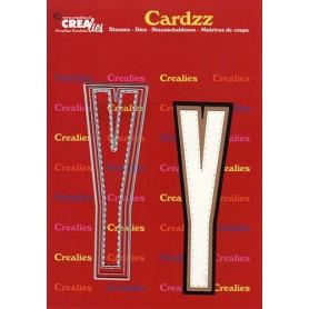 Crealies Cardzz letters Buchstabe Y max. 13 cm