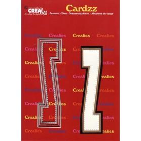 Crealies Cardzz letters Buchstabe Z  max. 13 cm