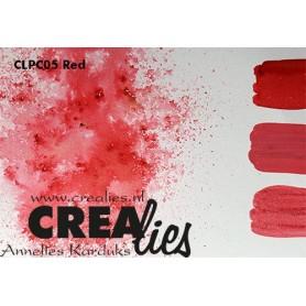 Crealies Pigment Colorzz Pulver Rot