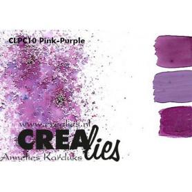 Crealies Pigment Colorzz Pulver Pink / Lila
