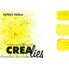 Crealies Pigment Colorzz Pulver Gelb