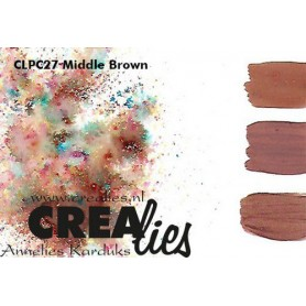 Crealies Pigment Colorzz Pulver Mittelbraun CLPC27