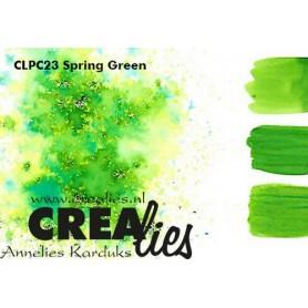 Crealies Pigment Colorzz Pulver Frühlingsgrün
