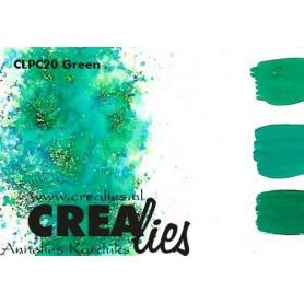 Crealies Pigment Colorzz Pulver Grün