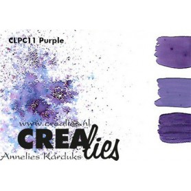 Crealies Pigment Colorzz Pulver Lila