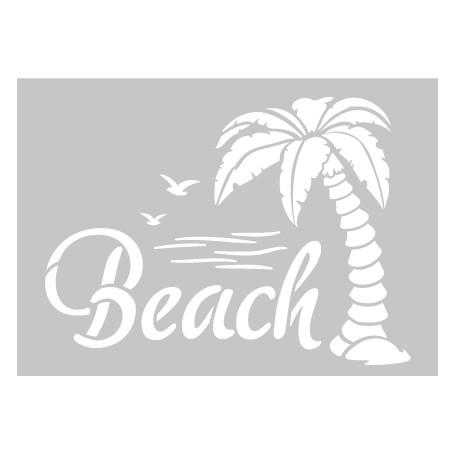 """Memories4You Stencil (A6) """"Beach"""""""