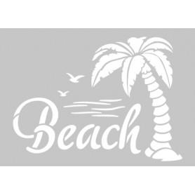 Memories4you Stempel A6 Menschen und Stencil A6 Beach