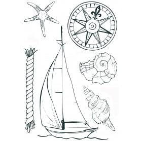 "Memories4you Stempel (A6) ""Nautical"""