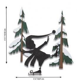Sizzix Thinlits Die Set - Thin Ice 6PK Tim Holtz