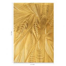 Sizzix 3-D Textured Impressions Emb. Folder Fallen Leaves Georgie Evans