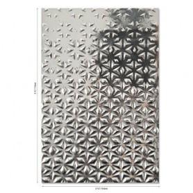 Sizzix 3-D Textured Impressions Emb. Folder Star Fall  Georgie Evans