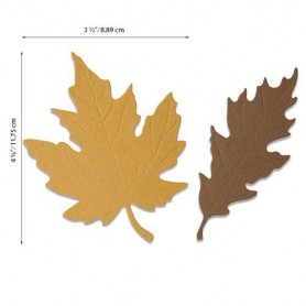 Sizzix Bigz Die - Autumnal Leaves  Jenna Rushforth