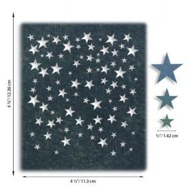 Sizzix Thinlits Die Set - Falling Stars 4PK 664732 Tim Holtz