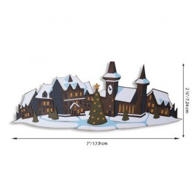 Sizzix Thinlits Die Set - Holiday Village Colorize 7PK Tim Holtz