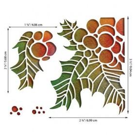 Sizzix Thinlits Die Set - Holly Pieces 4PK Tim Holtz